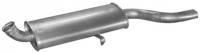 01.14 Глушник задній (кінцевий, основний) для Audi 80 79-87/90 84-87/Coupe 80-91 1.6/1.8kat/1.9/2.0