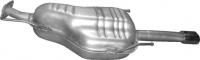 17.26 Глушник задній (кінцевий, основний) для Opel Astra G 1.8i 16V Coupe/Cabrio 03/00-09/03