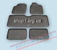 """200103 """"Коврики комплект Ford Galaxy 7 1995-2006, Seat Alhambra 7 1995-2010, VW Sharan 7 1995-2010"""