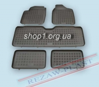"200103 ""Коврики комплект Ford Galaxy 7 1995-2006, Seat Alhambra 7 1995-2010, VW Sharan 7 1995-2010"