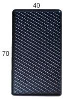 Коврик резиновий задній MatGum (<27-лівий> - чорний)