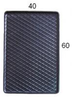 Коврик резиновий задній MatGum (<27-правий> - чорний)