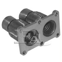 FA1 VW445-125 Эластична гофра interlock  45x120 мм 46.5 x 124.2 мм 2x + фланец