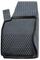 Коврик резиновый для ALFA ROMEO MITO передній MatGum (<P-лівий> - чорний)