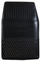 Коврик резиновый для FORD FIESTA (2002-  ) передній MatGum (<A-правий> - чорний)