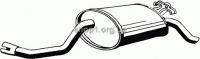 ASMET 01.009  (01009) Глушитель системы выпуска, задний