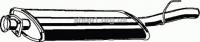 ASMET 01.046  (01046) Глушитель системы выпуска, передний