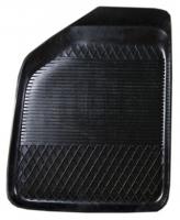 Коврик резиновый для HONDA CITY (2008-  ) передній MatGum (<B-лівий> - чорний)