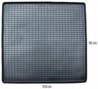 Коврик резиновий у багажник ЧОРНИЙ 95 x 100