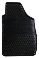 Коврик резиновый для FIAT 500 передній MatGum (<BX-правий> - чорний)