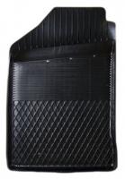 Коврик резиновый для VOLKSWAGEN GOLF 2, 3 передній MatGum (<C-лівий> - чорний)