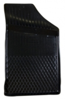Коврик резиновый для VOLKSWAGEN GOLF 2, 3 передній MatGum (<C-правий> - чорний)