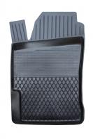 Коврик резиновый для HONDA CIVIC (2001-  ) передній MatGum (<CN-лівий> - чорний)