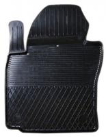 Коврик резиновый для VOLKSWAGEN CADDY (2004-  ) передній MatGum (<CX-лівий> - чорний)