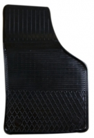 Коврик резиновый для SKODA OCTAVIA (2004-  ) передній MatGum (<CX-правий> - чорний)