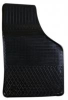 Коврик резиновый для VOLKSWAGEN CADDY (2004-  ) передній MatGum (<CX-правий> - чорний)
