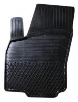 Коврик резиновый для AUDI A6 (2004-  ) передній MatGum (<DX-лівий> - чорний)
