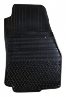 Коврик резиновый для HYUNDAI SANTA FE передній MatGum (<DX-правий> - чорний)