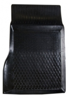 Коврик резиновый для MERCEDES S-KLASA передній MatGum (<E-правий> - чорний)