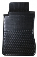 Коврик резиновый для MERCEDES C-KLASA (2001-  ) передній MatGum (<EX-лівий> - чорний)