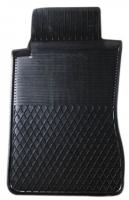 Коврик резиновый для NISSAN MICRA передній MatGum (<EX-лівий> - чорний)