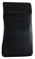 Коврик резиновый для MERCEDES C-KLASA (2007-  ) передній MatGum (<EX-правий> - чорний)