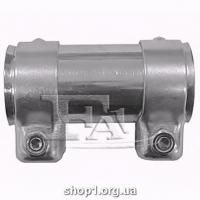 FA1 004-838 зєднувач (нержав. сталь) 38/42.5x95 мм SS 1.4301 + MS clamp + 10.9 bolt + 10.9 n