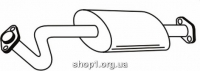 Ferroz 01.013  (01.13)  Передний глушитель FSO POLONEZ ATU   sedan  1.5 1.6 1.6i 1.6GSi  cat  91-98