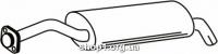 Ferroz 01.023  (01.23)  Задний глушитель FSO POLONEZ TRUCK   caro  1.6i 1.9D  cat  95-