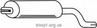 Ferroz 01.025  (01.25)  Задний глушитель FSO POLONEZ TRUCK   pick up duble cab.  1.5 1.6 1.9D  cat  78-