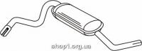 Ferroz 03.007  (03.07)  Средний глушитель LADA NIVA   4x4  1,6  cat  78-95