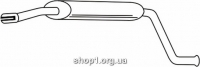 Ferroz 03.014  (03.14)  Средний глушитель LADA DIVA   sedan  1.3 1.5  cat  92-95