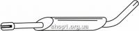 Ferroz 03.015  (03.15)  резонатор глушителя LADA NIVA   4x4  1.7i  cat  01-