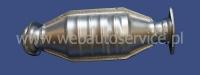 Ferroz 03.026  (03.26) пламегаситель, Передний глушитель LADA DIVA   sedan  1.3i 1.5i  cat  95-97