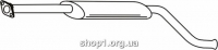 Ferroz 03.027  (03.27)  Глушитель средняя часть LADA SAMARA 2110 2115     1.5i 1.5i 8V 16V  cat  98-