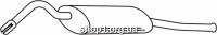 Ferroz 04.010  (04.10)  задняя часть глушитель SKODA FAVORIT   combi  1,3  cat  89-96