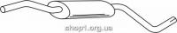 Ferroz 04.015  (04.15)  Глушитель средняя часть SKODA FELICIA   hatchback combi  1.9D  cat  94-