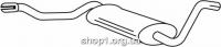 Ferroz 05.002  (05.02)  Труба выхлопной системы AUDI COUPE     1.6 1.8    80-86
