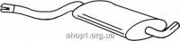 Ferroz 05.003  (05.03)  Средний глушитель AUDI 80     1.3 1.6    77-78