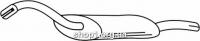 Ferroz 05.004  (05.04)  выхлопной глушитель AUDI COUPE     1.8 2.0  cat  89-91