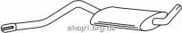 Ferroz 05.007  (05.07)  Средний глушитель AUDI 100   sedan  1.6 1.9 2.1 2.0D 2.0TD    77-83