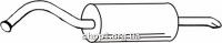 Ferroz 05.010  (05.10)  Глушитель задняя часть AUDI 100   avant sedan  1.8 1.9 2.0 2.1 2.2 2.0D 2.0TD 2.4D  cat  83-90