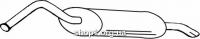 Ferroz 05.019  (05.19)  Глушитель задняя часть AUDI 100   avant sedan  2.2 2.3  cat  85-91