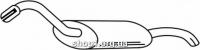 Ferroz 05.032  (05.32)  выхлопной глушитель AUDI 80     1.6D 1.6TD 1.9D    86-91