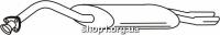 Ferroz 05.037  (05.37)  глушитель на  AUDI A6   avant sedan  2.6 V6 2.8 V6  cat  94-97