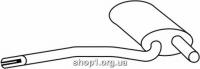 Ferroz 05.047  (05.47)  Труба выхлопной системы AUDI A4   avant sedan  1.6 1.9Di 1.9TDi  cat  94-01