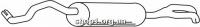 Ferroz 05.057  (05.57)  задняя часть глушитель AUDI A4   avant sedan  1.9Di 1.9TDi  cat  99-01