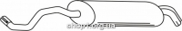 Ferroz 05.058  (05.58)  купить глушитель AUDI A3   . hatch  1.8 Turbo 1.8i Turbo  cat  12/96-06/03