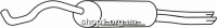 Ferroz 05.061  (05.61)  глушители AUDI A4   avant sedan  1.8 Turbo 20V  cat  10/95-09/01