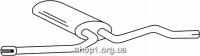Ferroz 05.072  (05.72)  Средний глушитель AUDI A6   avant sedan  1.9TDi TD    06/01-01/05